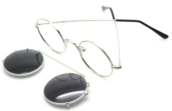 Matching Sunglasses CLIP ON to match all sizes of the 1400 Model At The Old Glasses Shop Ltd