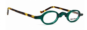 Small Oval Vintage Style Acrylic Glasses By Anglo American At www.theoldglassesshop.co.uk