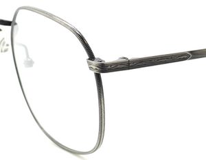 Antique Silver Vintage Large Eye Spectacles By Avalon At The Old Glasses Shop