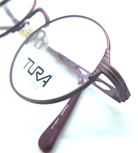 Vintage Tura round eye frames in antique pink at The Old Glasses Shop Ltd