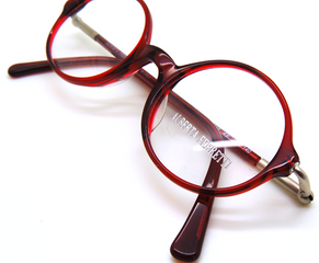 Alberta Ferretti AF 706 Round Red Vintage Acrylic Eyewear At The Old Glasses Shop Ltd