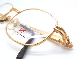 Vintage Yohji Yamamoto 6104 Gold Plated Eyewear At The Old Glasses Shop Ltd