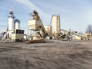Astec 6 Pack Model 8020 Portable Asphalt Plant used for sale