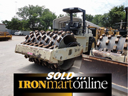 2000 SD110F Ingersoll Rand Padfoot Compactor, 6 cylinder Diesel engine.