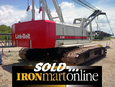 1998 Link-Belt LS-138H 75-Ton Crawler Crane used for sale