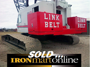 1979 Link-Belt LS-518 150-Ton Crawler Crane,  NEW OSHA Certification.