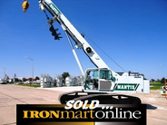 2008 Mantis 6010-125 30-Ton Crawler Crane, very good condition.
