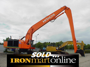 Hitachi EX1200-5D ME/Long Reach Excavator, in very good condition.
