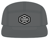 Five Panel Wool Camper Cap Rendering, Gray