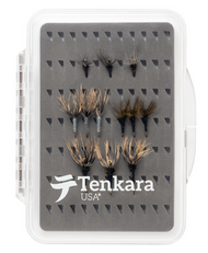 Fly Box with 12 Tenkara Flies