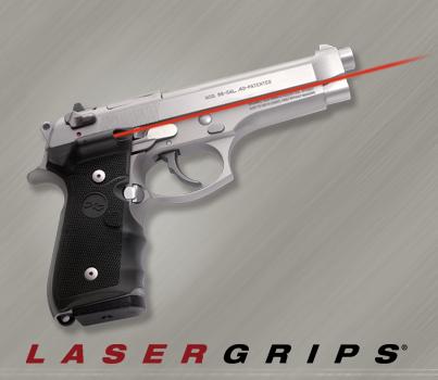 Crimson Trace Lasergrips: Beretta 92 / 96 (NSN: 5855-01-460