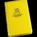 RITE IN THE RAIN 550F (BOUND BOOK - FABRIKOID COVER - ENVIRONMENTAL)