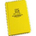 RITE IN THE RAIN 550-4F (BOUND BOOK - FABRIKOID COVER - POCKET ENVIRONMENTAL)