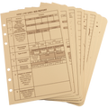 RITE IN THE RAIN 9200T-R (TACTICAL REFERENCE CARDS  - TAN - NSN 7610-01-528-5808)