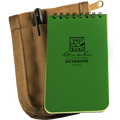 RITE IN THE RAIN 935-KIT (3X5 KIT - GREEN BOOK/TAN COVER - NSN 7530-01-536-2661)