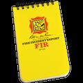 RITE IN THE RAIN 125 (3X5 NOTEBOOK - FIRE INCIDENT REPORT)