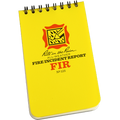 RITE IN THE RAIN 125-H (3X5 NOTEBOOK - FIRE INCIDENT REPORT - HEADER)