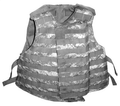 Base Vest Assembly, OTV (Outer Tactical Vest), IBA (Interceptor Body Armor), NSN 8470-01-526-8753, ACU Pattern, Size Large