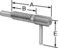 NSN 5340-01-545-6390 - PLUNGER,QUICK RELEASE