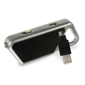 LED Lighting, High Intensity Lights, Wearable Lights, Sapphire USB, Blue Aluminum, P/N 53650
