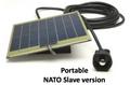 Charger, Battery, Solar, NSN 6130-01-558-5371, 24-Volt, 6-Watt