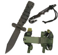 ASEK Survival Kit, NSN 1095-01-518-6832, with Knife, Sheath and Strap Cutter