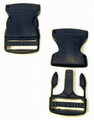 "Blackhawk: Side Release Buckle 1.5"" (set of 2) (98HP06BK)"