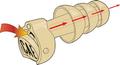 Combat Arms Earplugs, Single-Side, Medium, NSN 6515-01-576-8861