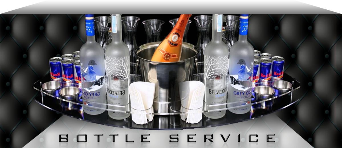 Custom Vip Bottle Service Delivery Trays Caddies And Vip