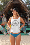 Women's Share the Ocean tank top.