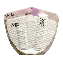 Zap Lazer Traction Pad Set l White