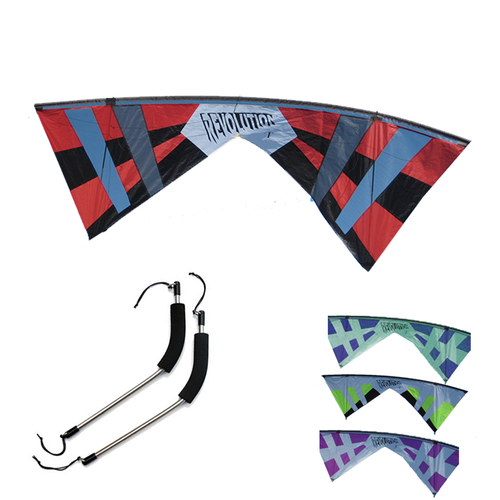 Revolution 1 Quad Line Kite L Color Options
