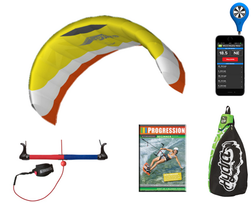 HQ Hydra ll 300 Trainer Kite Bundle