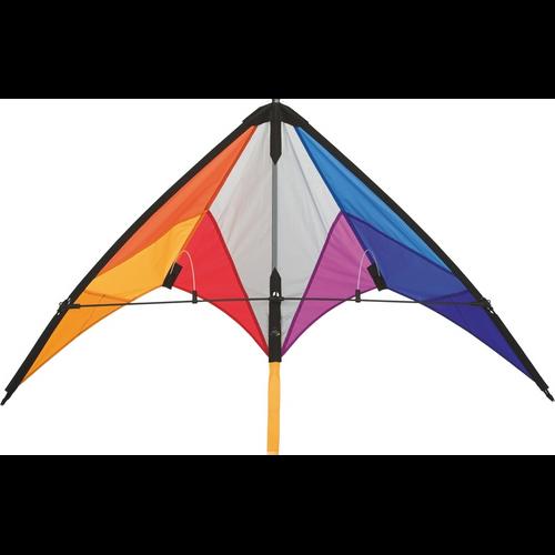 HQ Calypso II Rainbow Dual Line Sport Kite