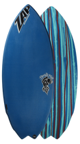 The Rocket Fish Team Series Carbon Skimboard by ZAP Skimboards