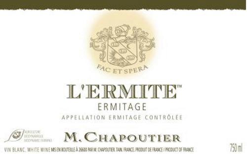 Ermitage Blanc L Ermite 2012 M Chapoutier