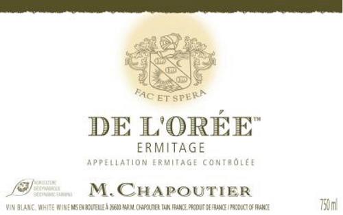 Ermitage Blanc De L Oree 2013 M Chapouter