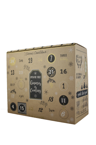 Gin and Tonic Advent Calender 2017