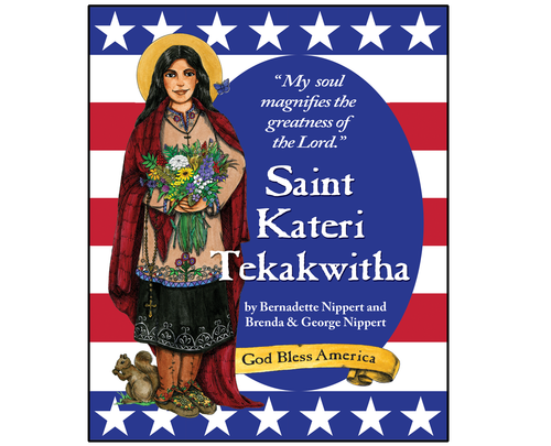 Another book in the American Saints series from Catholic Artworks, this book tells the story of gentle Kateri. Colorful illustrations and simple but thoughtful text. Great read-a-loud to the family!