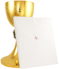 Pall Mass Linen with plastic insert and red cross