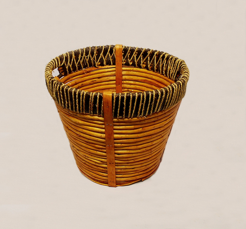 """This rustic overflow basket is perfect for Holy Days and Special Collections!  These baskets are able hold a great amount and feature slotted handles that make them easy to carry. These rustic overflow collection baskets measure 16"""" in diameter with a 13"""" depth."""