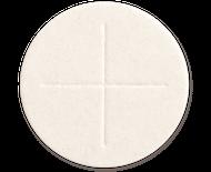 "St. Jude Shop's  2 ¾"" Altar White Bread Celebrant."