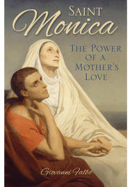 The story of Monica's life is more relevant today than ever, because it is close to the problems we face in our own time. Using extensive excerpts from the writings of St. Augustine, notable for his Confessions, Giovanni Falbo sheds new light on St. Monica's patience, sweetness, and unwavering determination. This mother never yielded in her efforts to see her beloved son find comfort and peace in God, and she endured countless sacrifices and health risks in her quest to help Augustine embrace the faith. Monica's quiet wisdom and courage, coupled with her earnest tears and prayers to God, bore fruit she could only have dreamed of.  St. Augustine's words bring St. Monica to life and show her to be a mother who wanted the very best for her son. Falbo has created a biography filled with captivating story-telling elements that pull the reader into Monica's life, offering a rare look into the heart of a deeply caring, profound woman of God.