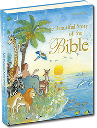 The Beautiful Story of the Bible contains all the most important stories of the Bible, with expressive and gorgeous pictures sure to delight young children. From Adam and Eve to the prophet Isaiah, from Jesus to the Apostle Paul, the Old and New Testaments come to life and tell the beautiful story of God's love for mankind!  Ages 4 and Up