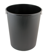 Black Trash Bucket for Stainless Steel Gym Wipes Floor Dispenser (Z-600)