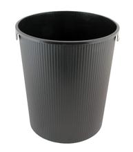Black Trash Bucket for Stainless Steel Gym Wipes Floor Dispenser (Z-600)