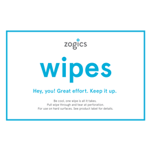 Zogics Gym Wipe Sign, VW-5