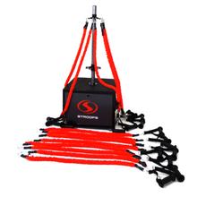 Stroops Slastix Pole, Silver Kit, 33-Piece Portable Anchoring System (SPOLEBK)