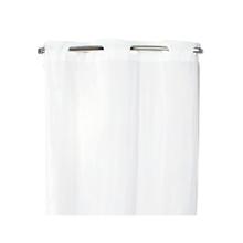 HOOKLESS Shower Curtain, White, ...