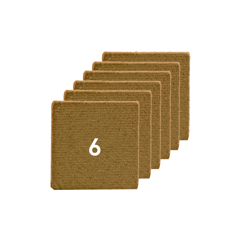 6 pack of Eco-Friendly Air Freshener Fragrance Squares (6 month supply)